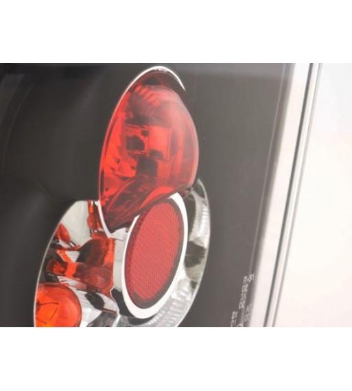 Angel Eye Headlight LED Xenon BMW serie 5 E60/E61 Yr. 03-04 black chrome RHD