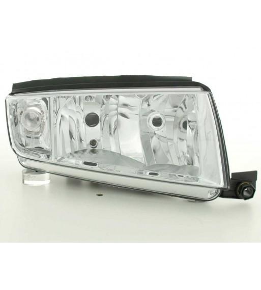 Daylight headlight VW Bus type T4 Yr. 96-03 black RHD