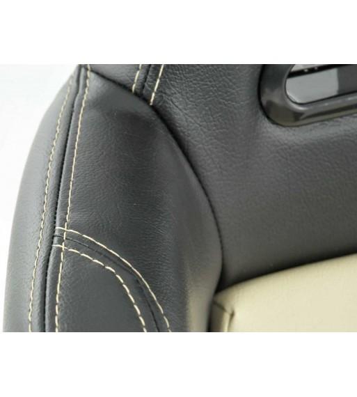 Central Grilles Kidney Grilles BMW 4 Series F32 (2013-up) Double Stripe M Design Matte Black