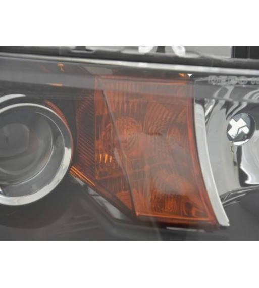 LED taillights Ford Fiesta MK 7 08+ 5D _ red/crystal