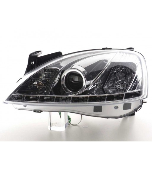 Led Dedicated Daytime Running Lights for Mercedes Benz W204 Sport (Sport Packet) (2008-2011)